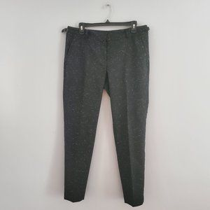 Ann Taylor Tweed Ankle Trouser Pants Size 6